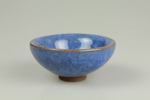 Ice Crack Pattern Porcelain Teacup 40ml #0113d. http://china-cha-dao.com