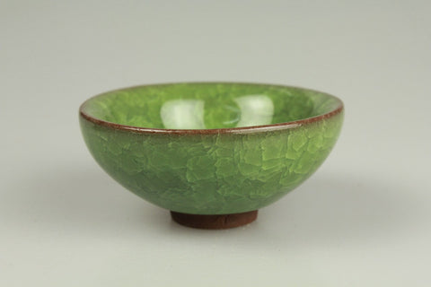 Ice Crack Pattern Porcelain Teacup 40ml #0113f. http://china-cha-dao.com