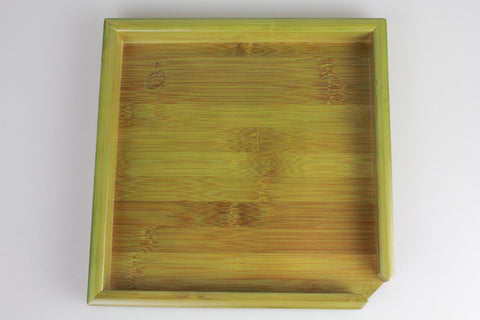 Green Bamboo Puerh Tea Tray * Tea Inspection Tray