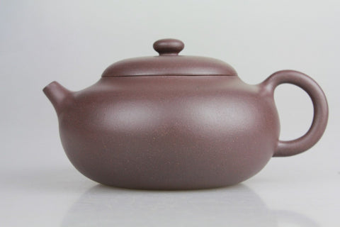 "Yixing Zisha ""Lao Zi Ni"" (Old Purple Clay) Teapot 210ml #299. http://china-cha-dao.com"