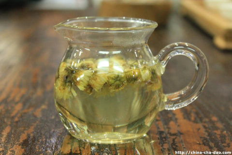 Organic Fetal Chrysanthe​mum Bud * Flower & Herbal Tea. http://china-cha-dao.com