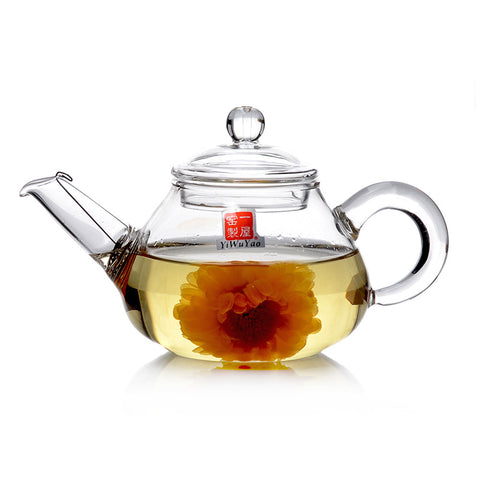 Clear Glass Teapot 150ml FH-209 #0069. http://china-cha-dao.com