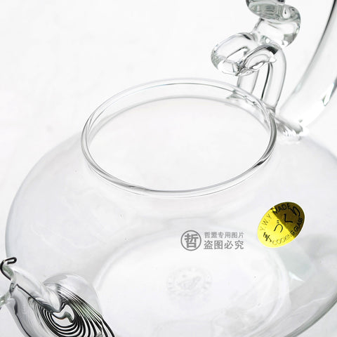 Clear Glass Teapot with Filter 500ml FH-247 #0046. http://china-cha-dao.com