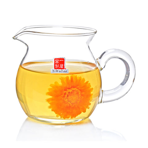 Clear Glass Tea Pitcher 250ml FH-331m #0071. http://china-cha-dao.com