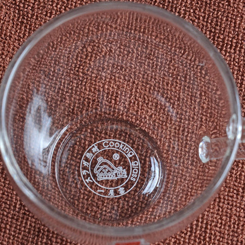 Clear Glass Tea Cup 50ml FH-336P #0007. http://china-cha-dao.com
