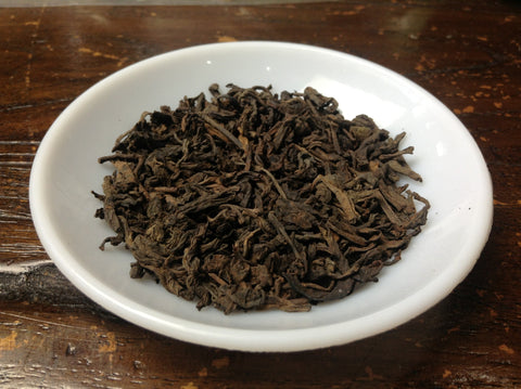 "2010 ""Grade 5"" Ripe Puerh Tea (Loose Leaf). http://china-cha-dao.com"