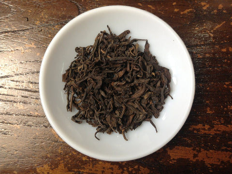 "2009 ""Grade 3"" Ripe Puerh Tea (Loose Leaf). http://china-cha-dao.com"