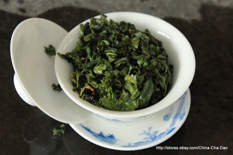 "Supreme AAA ""Tea Guan Yin' Chinese Oolong Tea. China Top Ten Famous Tea. http://china-cha-dao.com"