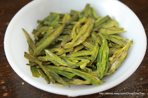 "Grade 1 Pre-Ming ""Long Jing""(Dragon Well) Green Tea"