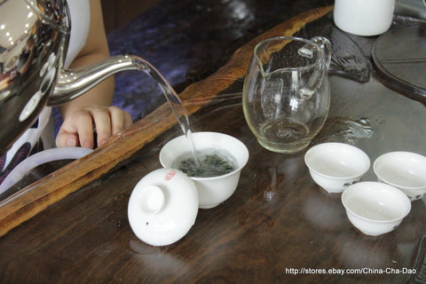 Tie Guan Yin / 铁观音 / Iron Goddess / Goddess of Mercy Chinese Top Ten Famous Tea http://china-cha-dao.com