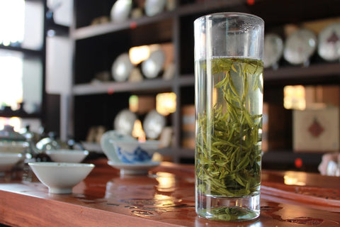 "Grade 2 Pre-Ming ""Long Jing""(Dragon Well) Green Tea. Chinese Top Ten Famous Tea. http://china-cha-dao.com"