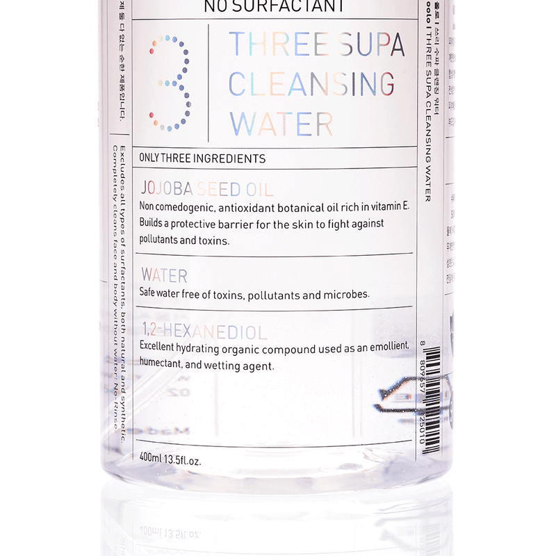 oolo 3 SUPA Cleansing Water