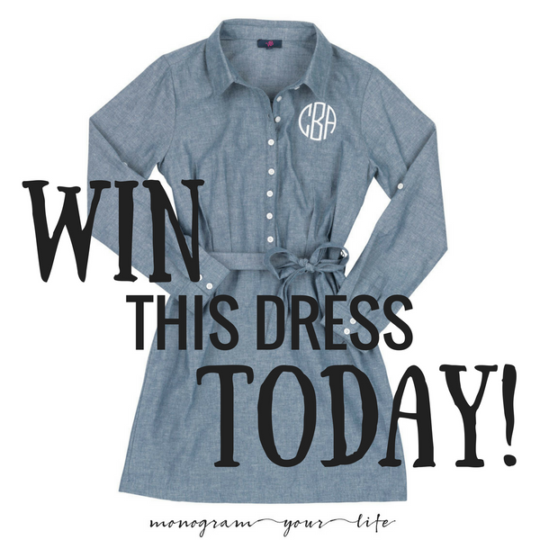 Chambray Dress GIVEAWAY Today Only