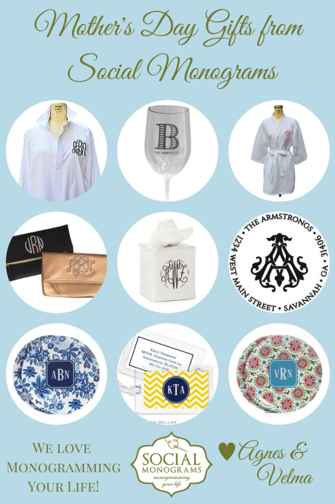 Mother's Day Gifts from Social Monograms
