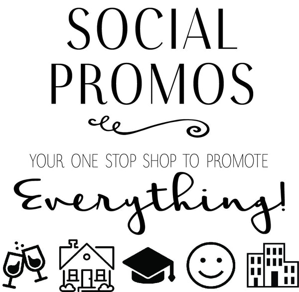 Promote Everything with Social Promos