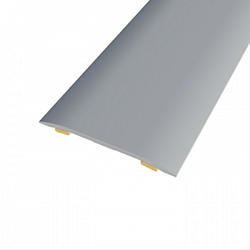370 Motion Cover Strip - 900mm - 38 x 2 - Brushed Steel