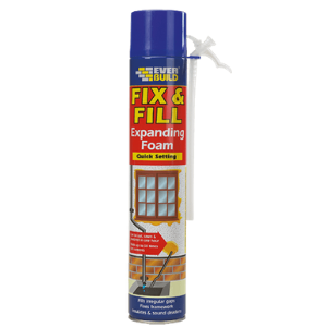 EVERBUILD FIX & FILL EXPANDING FOAM - 750ML - BOX OF 12