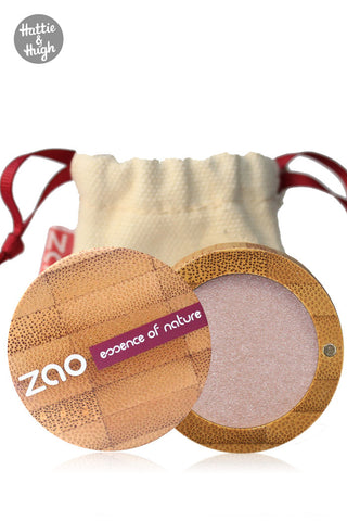 Zao Organic Matt Eyeshadow 204 Golden Old Pink
