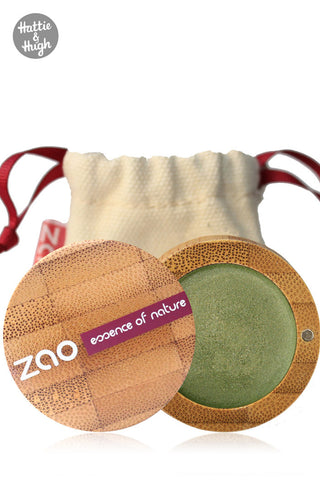 Zao Organic Cream Eye Shadow Multi Touch 252 Bamboo at Hattie & Hugh