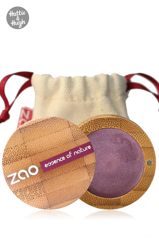 Zao UK Organic Cream Eye Shadow Multi Touch 253 Amethyst at Hattie & Hugh