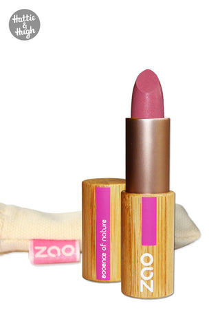 Zao Organic Matt Lipstick 461 Pink at Hattie & Hugh