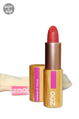 Zao Organic Matt Lipstick 464 Red Orange