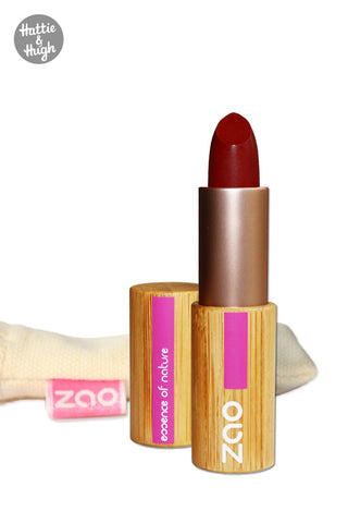 Zao Organic Matt Lipstick 465 Dark Red