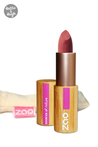 Zao Organic Matt Lipstick 469 Nude Rose at Hattie and Hugh