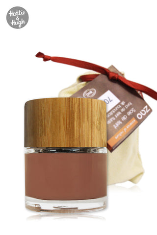 Zao Organic Silk Foundation 706 Chocolate
