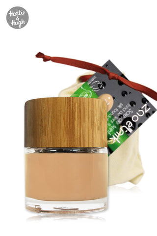 Zao Organic Silk Foundation 710 Light Peach