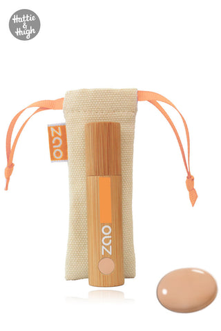 Zao Organic Light Touch Complexion 723 Peach at Hattie & Hugh