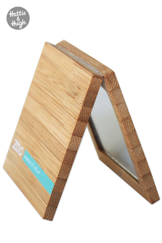 330e755738b5 Zao Organic Bamboo Pocket Makeup Mirror at Hattie and Hugh