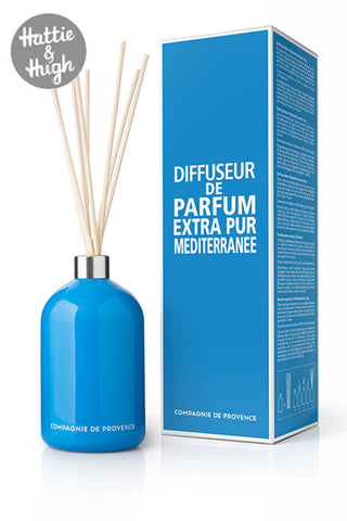 Compagnie De Provence Fragrance Diffuser in Mediterranean Sea with Box