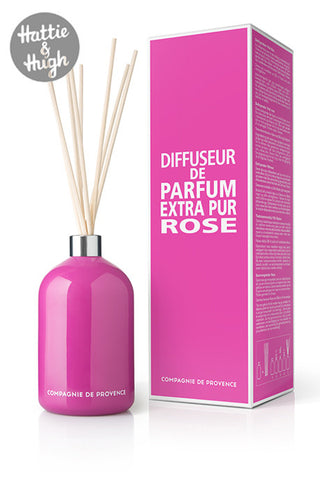 Compagnie De Provence Fragrance Diffuser in Wild Rose with Box