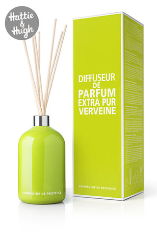 Compagnie De Provence Fragrance Diffuser in Fresh Verbena with Box