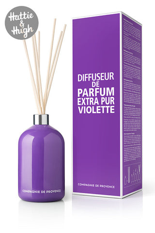 Compagnie De Provence Fragrance Diffuser in Sweet Violet with Box