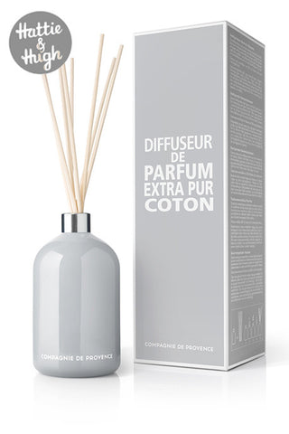 Compagnie De Provence Fragrance Diffuser in Cotton Flower with Box