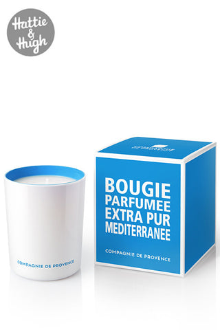 Compagnie De Provence Candle in Mediterranean Sea with Box