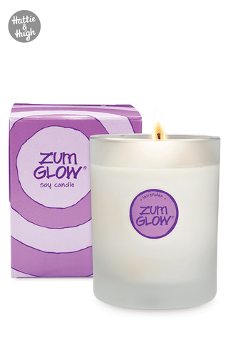 Zum Glow All Natural Candle in Lavender 198g