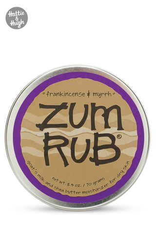 Zum Rub Moisturising Balm in Frankincense & Myrrh at Hattie & Hugh