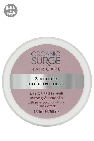 Organic Surge 2-Minute Moisture Hair Mask with Coconut Oil at Hattie & Hugh