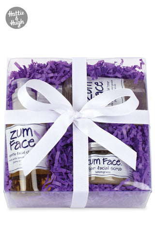Zum Face Gift Pack Cleanser Toner and Scrub at Hattie & Hugh