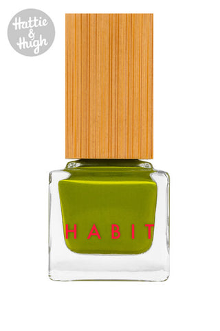 Habit Cosmetics UK Nail Polish in Moss at Hattie & Hugh