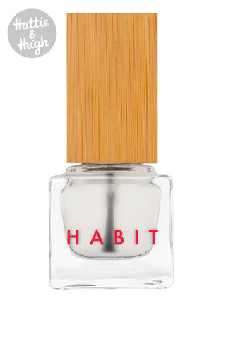 Habit Cosmetics UK Nail Polish Glossy Top Coat at Hattie and Hugh