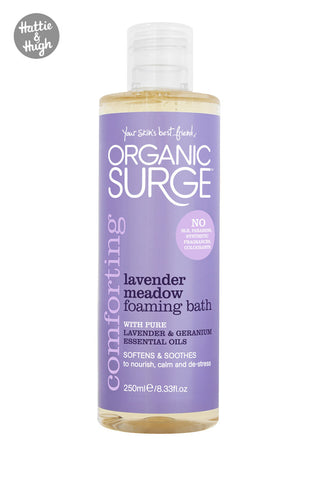 Organic Surge Lavender Meadow Bath Foam 250ml