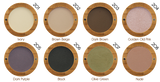 Zao UK Organic Matt Eyeshadow Shades at Hattie & Hugh