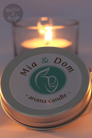 Mia & Dom Aroma Candle at Hattie & Hugh