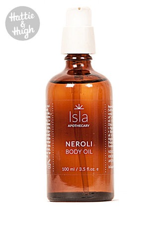 Isla Apothecary Neroli Body Oil 100ml