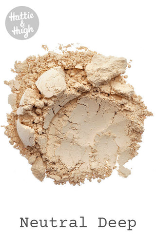 English Mineral Makeup Foundation Neutral Deep