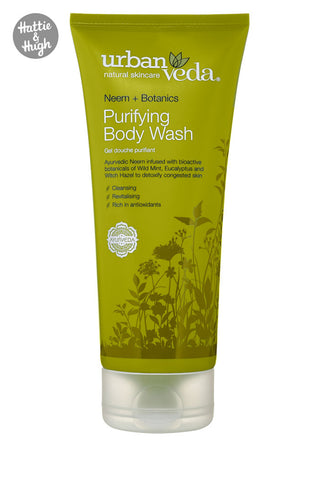 Urban Veda Purifying Body Wash at Hattie & Hugh